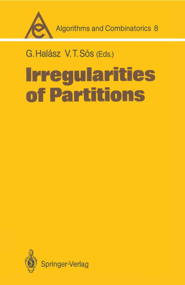 Irregularities of Partitions als Buch von