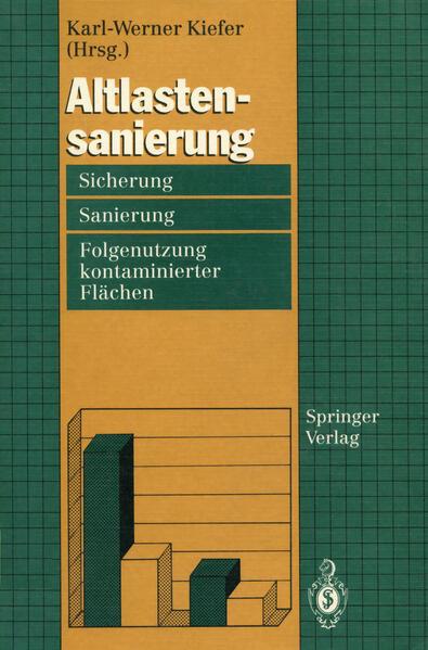 Altlastensanierung als Buch von Karl-Werner Kiefer