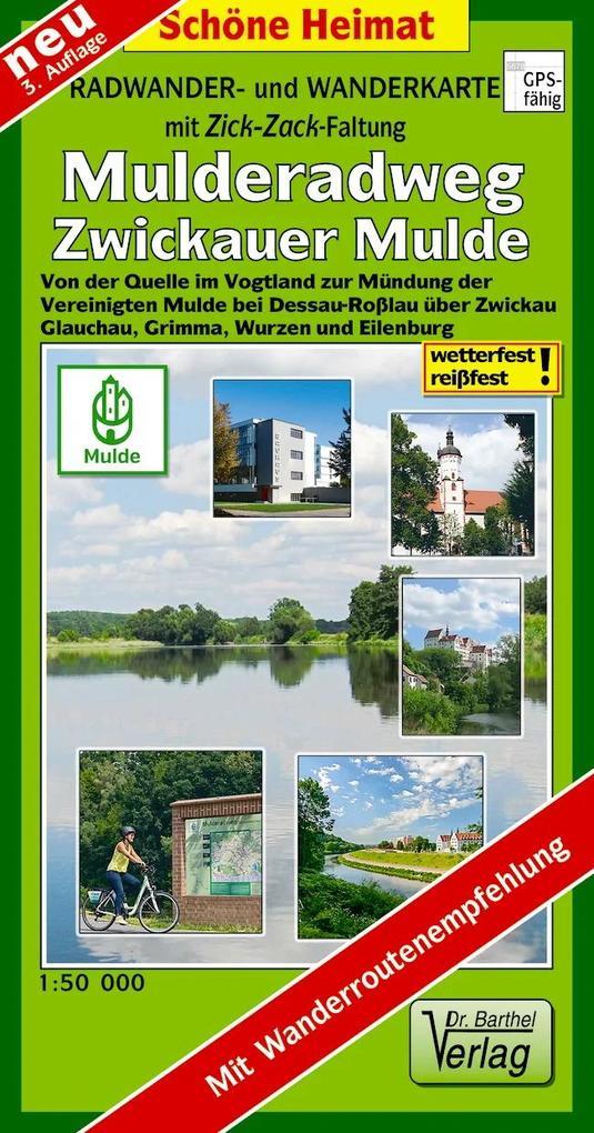 Mulderadweg (Zwickauer Mulde) Radwander- und Wa...
