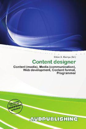 Content Designer als Buch von