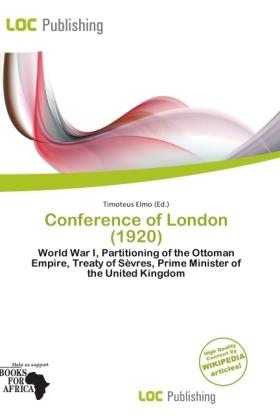 Conference of London (1920) als Taschenbuch von