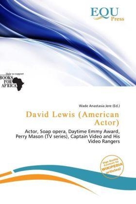 David Lewis (American Actor) als Taschenbuch von