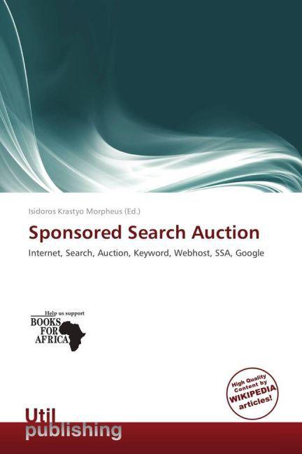 Sponsored Search Auction als Taschenbuch von