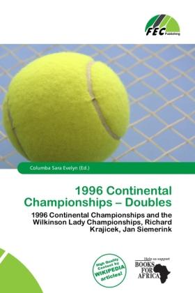 1996 Continental Championships - Doubles als Ta...