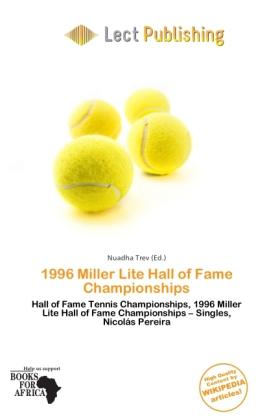 1996 Miller Lite Hall of Fame Championships als...