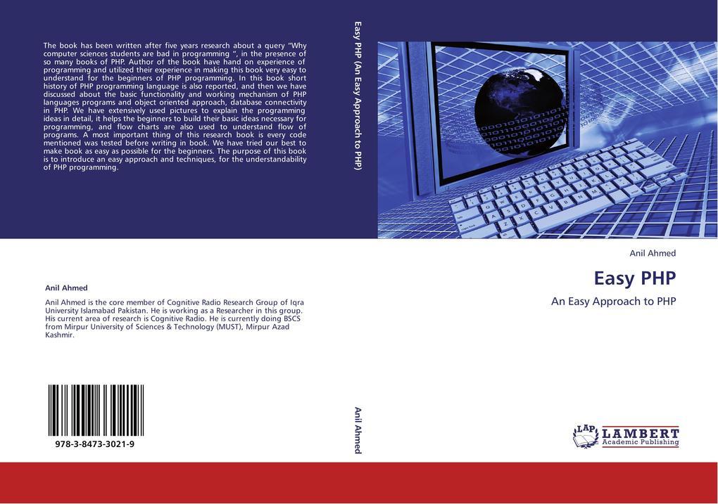 Easy PHP als Buch von Anil Ahmed