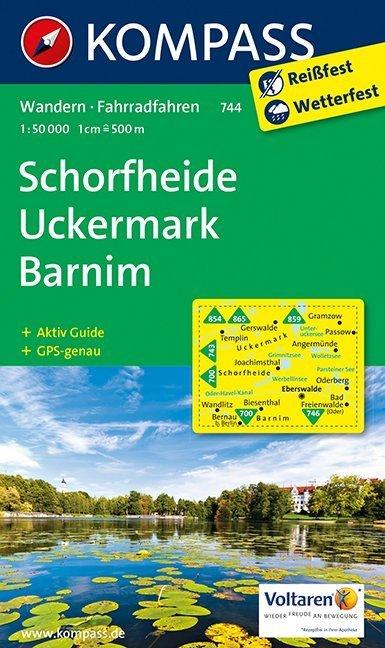 Schorfheide / Uckermark / Barnim 1 : 50 000 als...