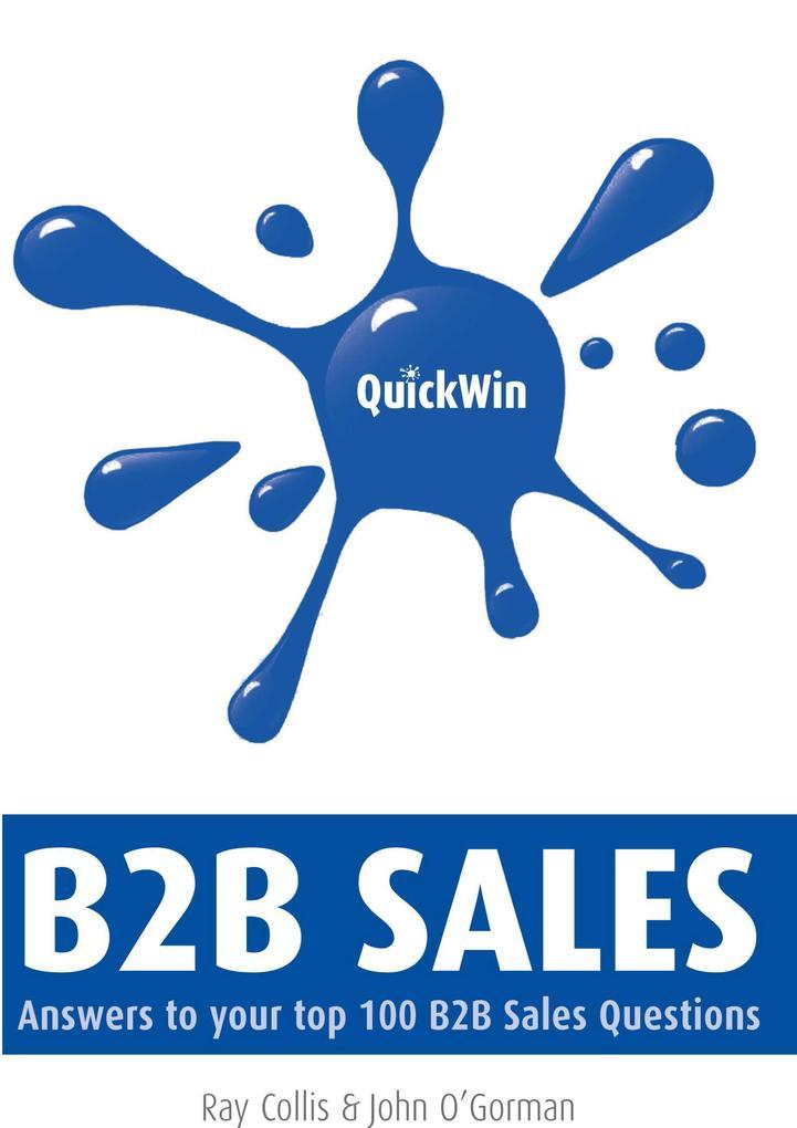 Quick Win B2B Sales als eBook Download von Ray ...