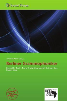 Berliner Grammophoniker als Taschenbuch von