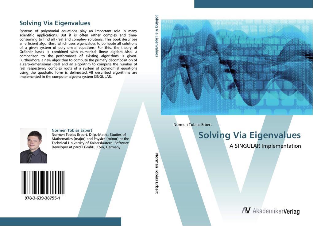 Solving Via Eigenvalues als Buch von Normen Tob...