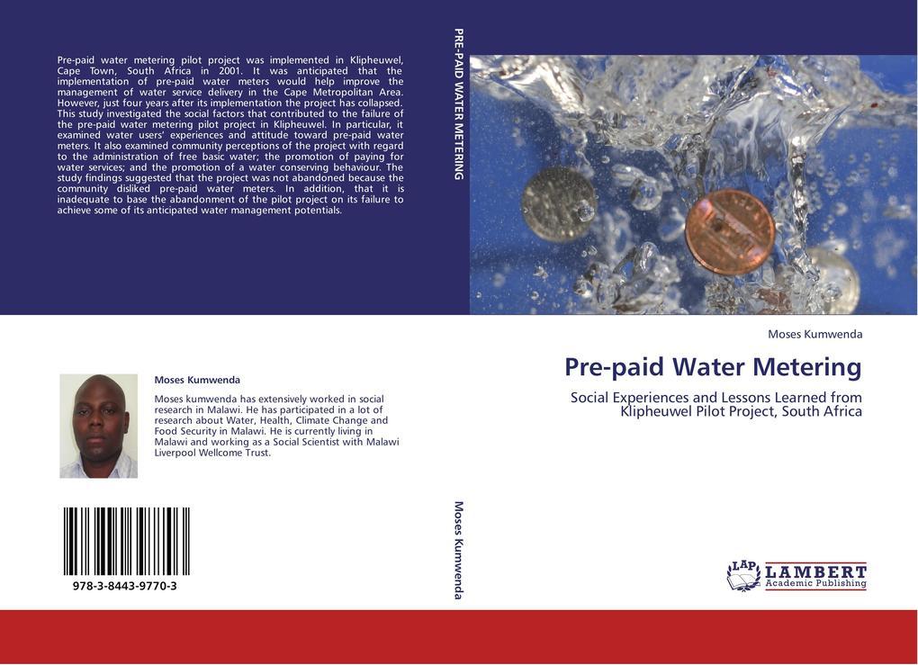 Pre-paid Water Metering als Buch von Moses Kumw...