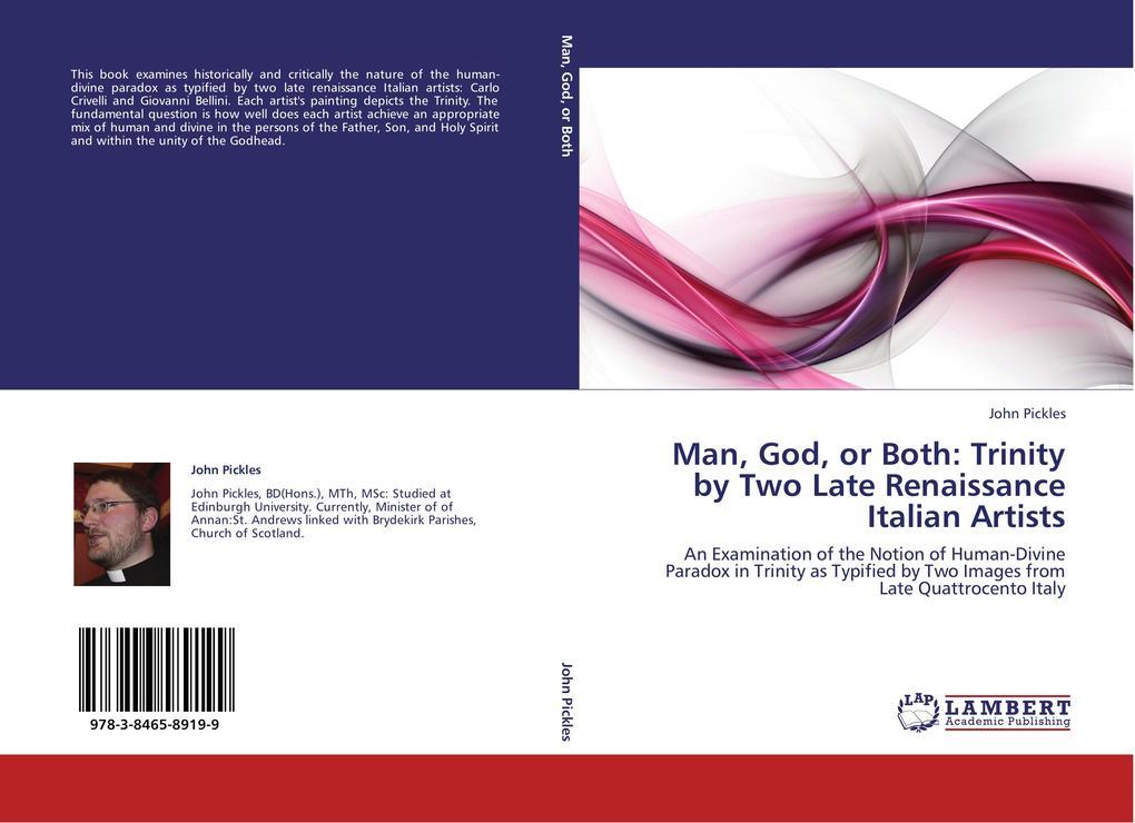 Man, God, or Both: Trinity by Two Late Renaissa...