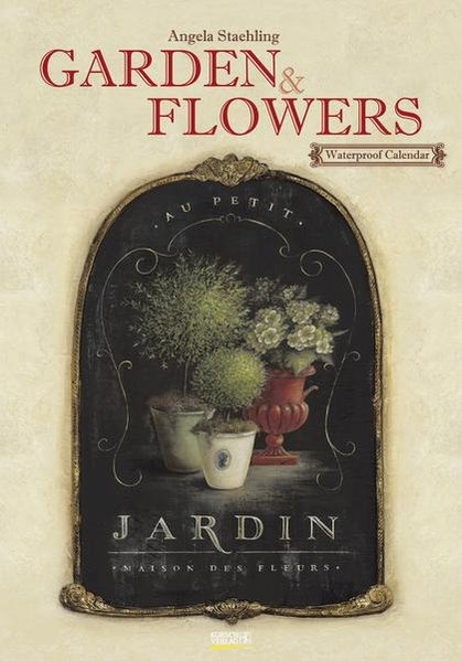 Garden & Flowers Waterproof Calendar