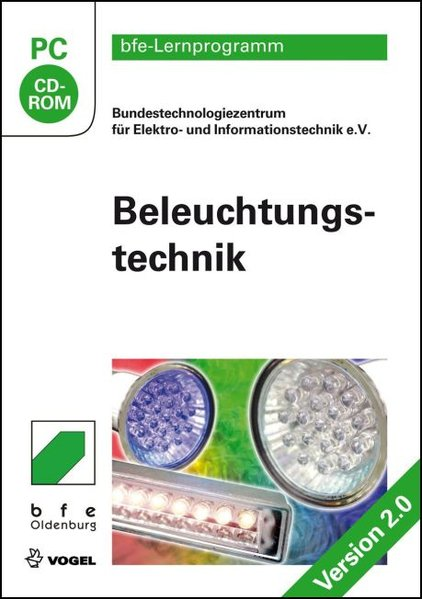 Beleuchtungstechnik 2.0. CD-ROM für Windows 7/ ...