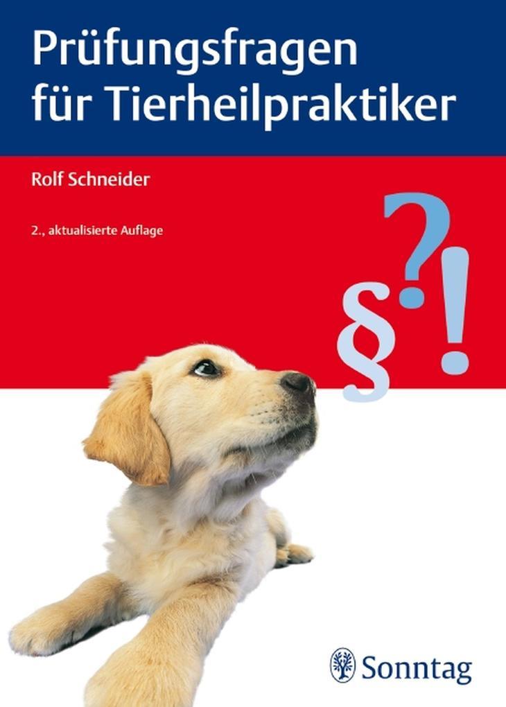 Prüfungsfragen für Tierheilpraktiker als eBook ...