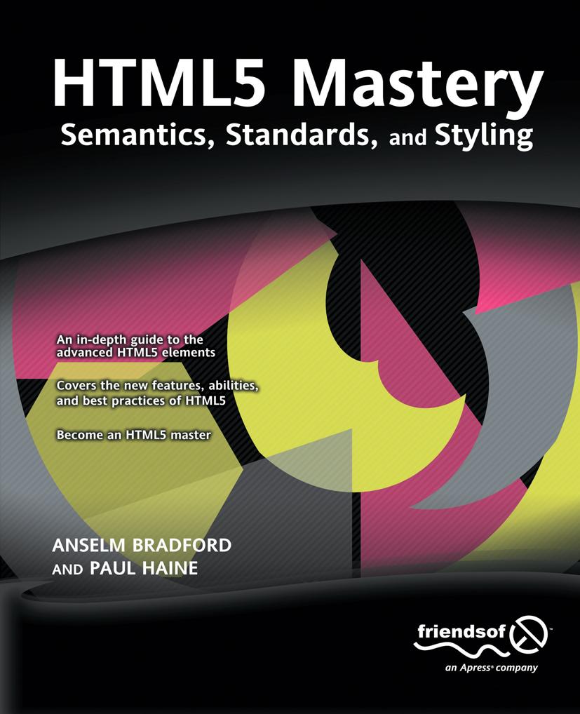 HTML5 Mastery als eBook Download von Anselm Bra...