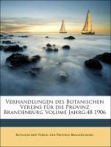 Verhandlungen des Botanischen Vereins für die P...
