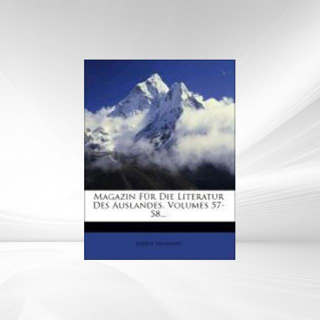 Magazin für die Literatur des Auslandes, Neunun...