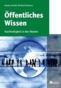 Öffentliches Wissen als eBook Download von Mart...