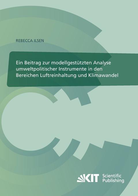 Ein Beitrag zur modellgestützten Analyse umwelt...