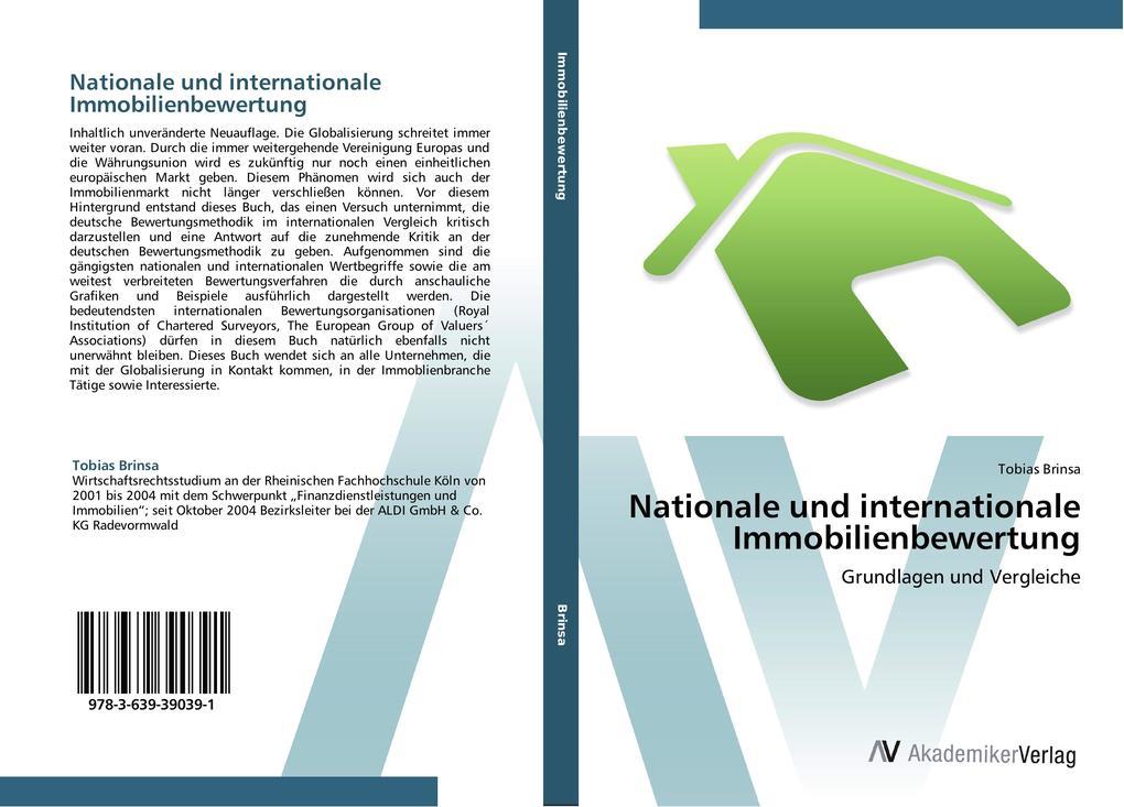 Nationale und internationale Immobilienbewertun...
