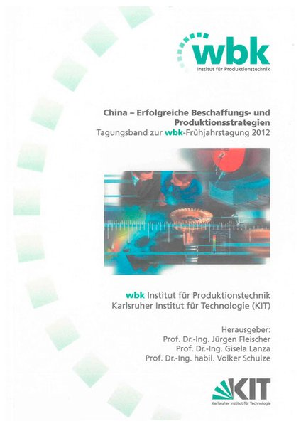 China - Erfolgreiche Beschaffungs- und Produkti...