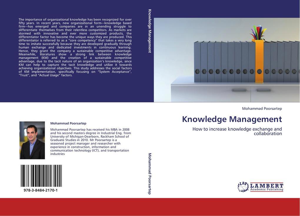 Knowledge Management als Buch von Mohammad Poor...