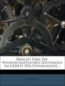 Bericht Über Die Wissenschaftlichen Leistungen ...