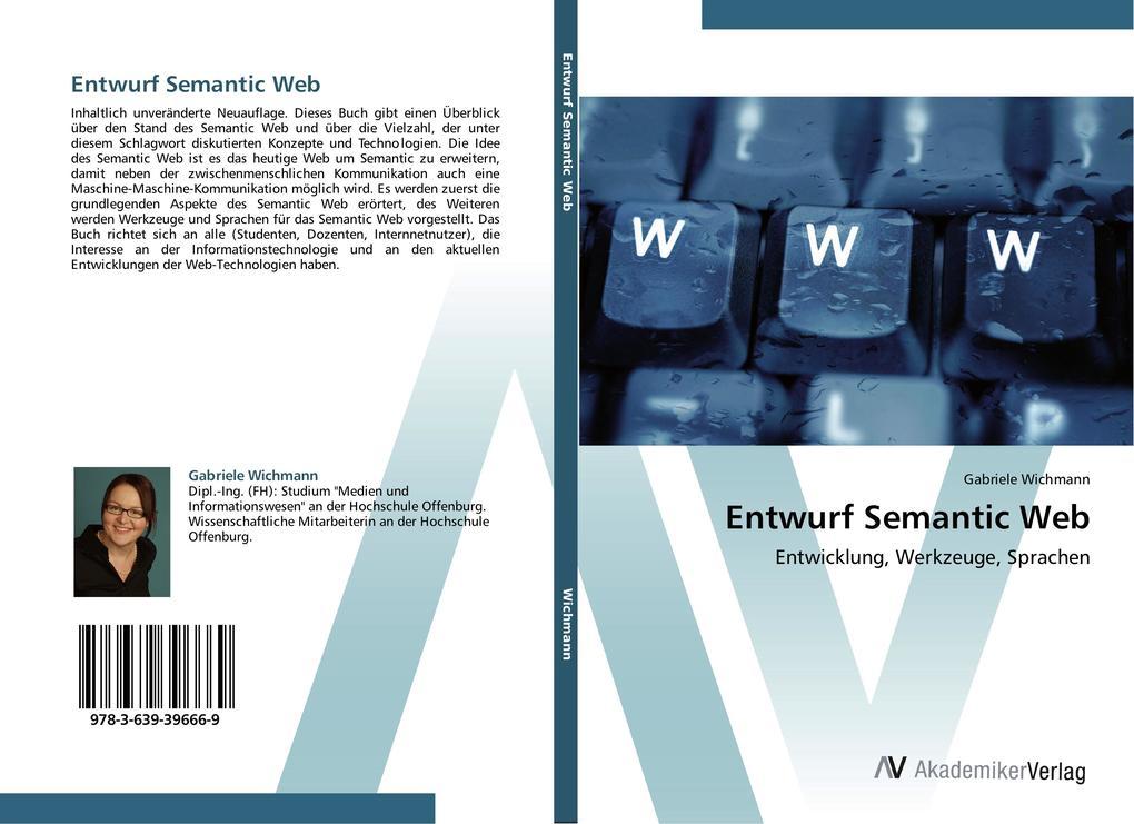Entwurf Semantic Web als Buch von Gabriele Wich...