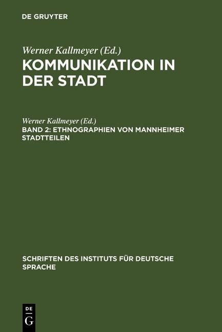 Ethnographien von Mannheimer Stadtteilen als eB...