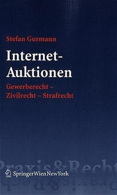 Internet-Auktionen als Buch von Stefan Gurmann