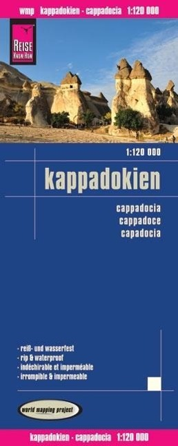Reise Know-How Landkarte Kappadokien 1 : 120 00...