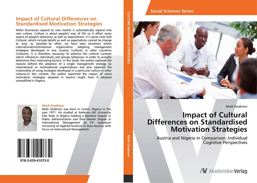 Impact of Cultural Differences on Standardised ...