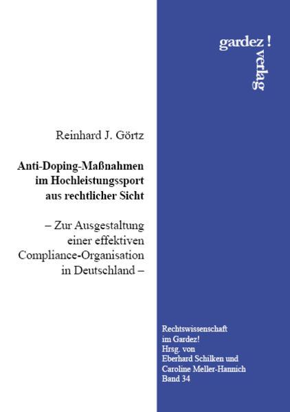 Anti-Doping-Maßnahmen im Hochleistungssport aus...
