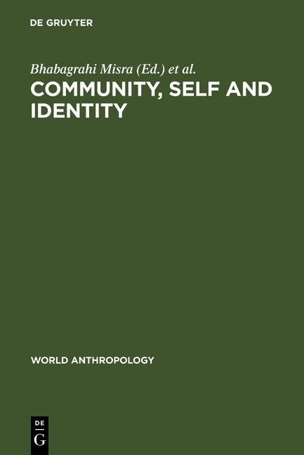 Community, Self and Identity als eBook Download...