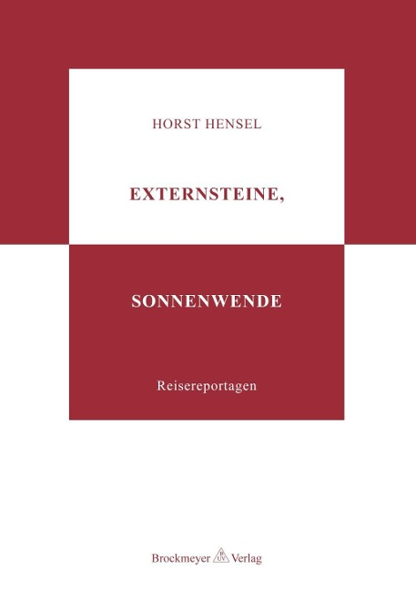 Externsteine, Sonnenwende als Buch von Horst He...