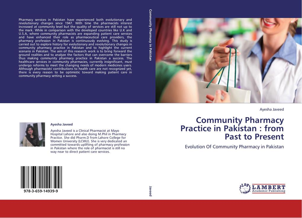 Community Pharmacy Practice in Pakistan : from ...