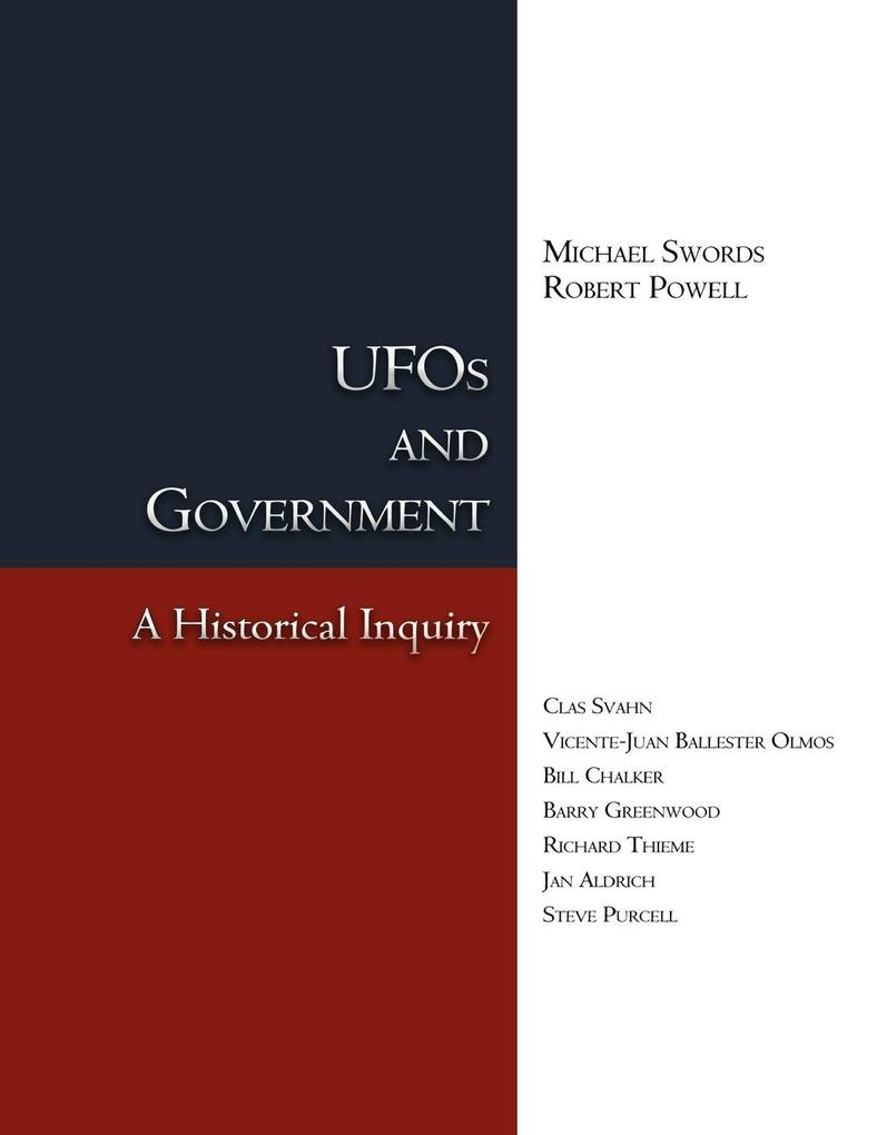 UFOs and Government als Buch von Michael Swords...
