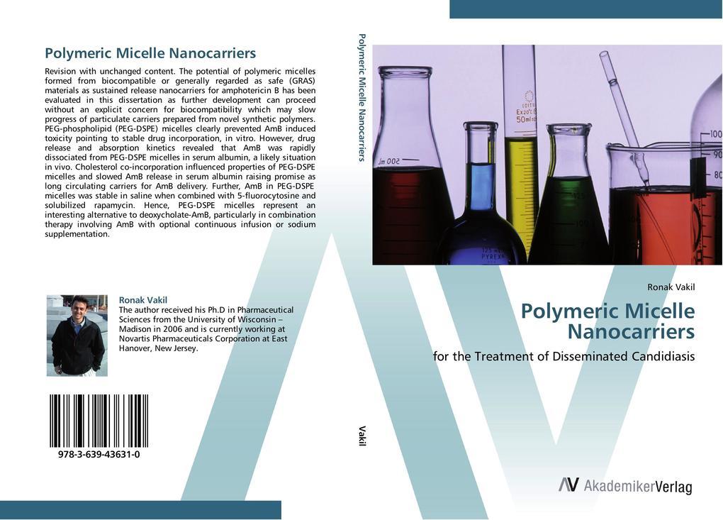 Polymeric Micelle Nanocarriers als Buch von Ron...