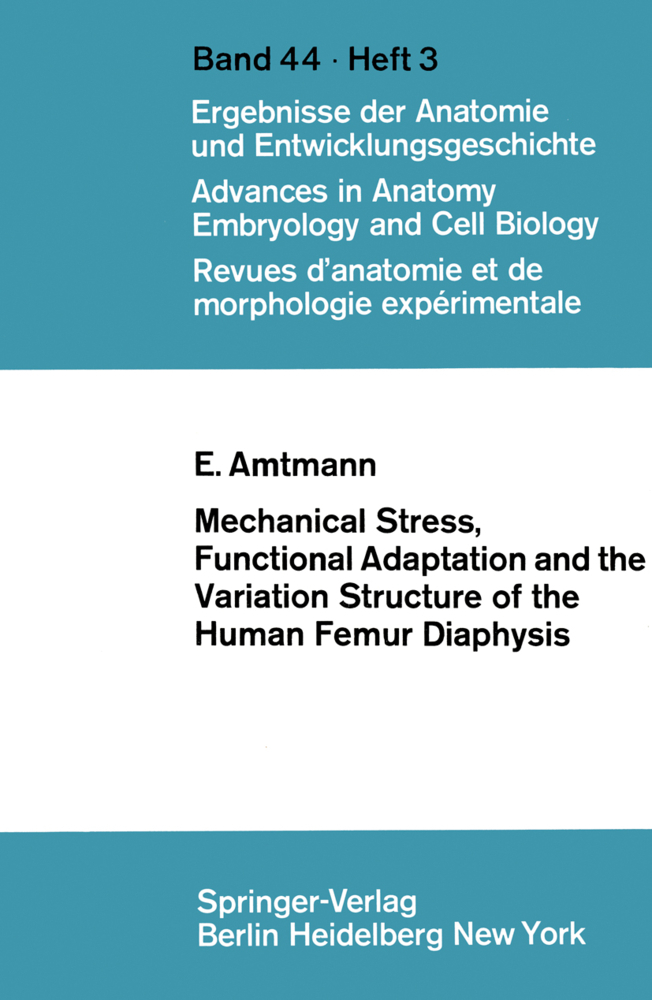 Mechanical Stress, Functional Adaptation and th...