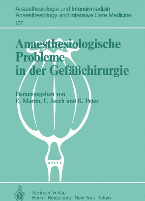 Anaesthesiologische Probleme in der Gefäßchirur...