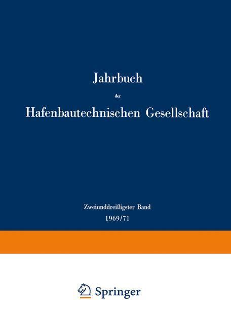 Zweiunddreißigster Band 1969/71 als Buch von W....