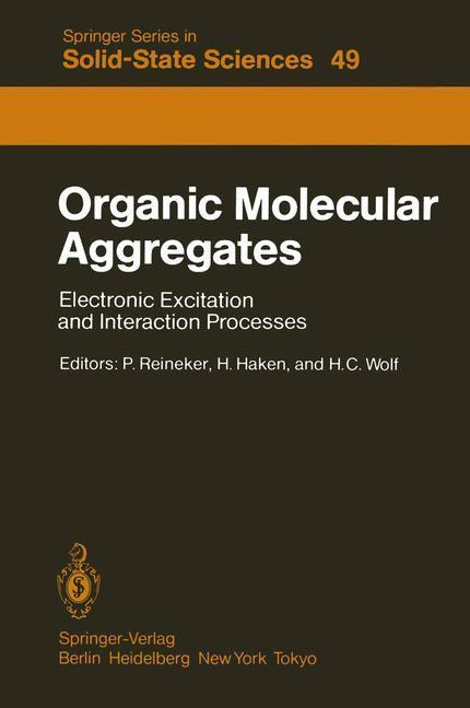 Organic Molecular Aggregates als Buch von