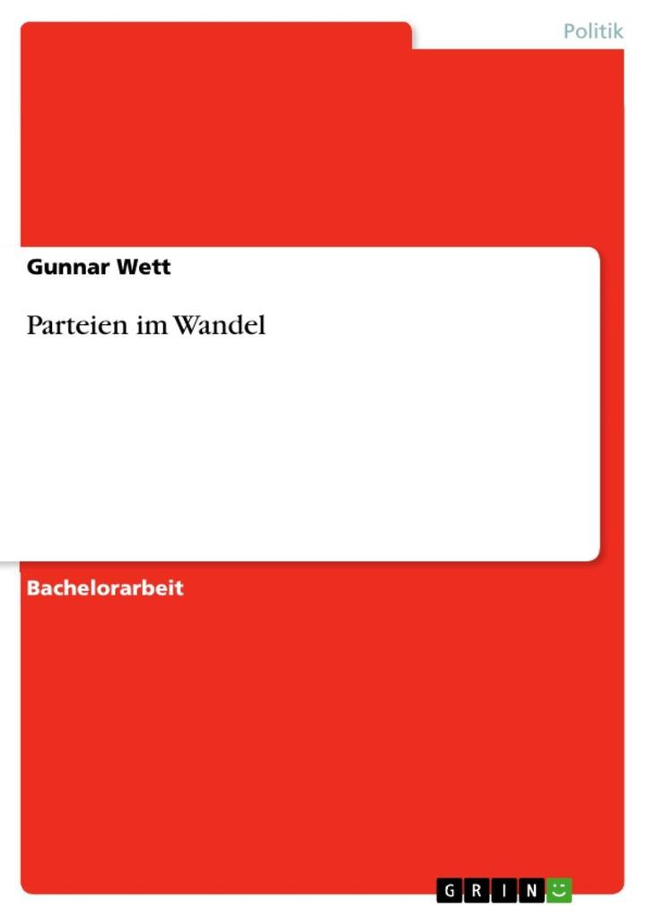 Parteien im Wandel als eBook Download von Gunna...