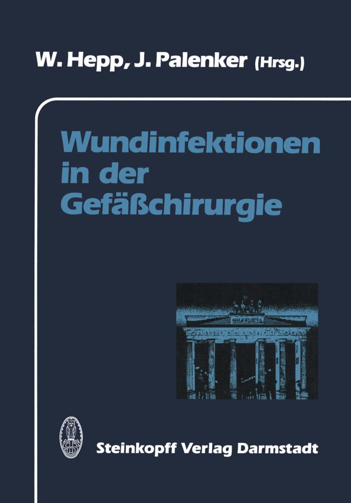 Wundinfektionen in der Gefäßchirurgie als Buch von