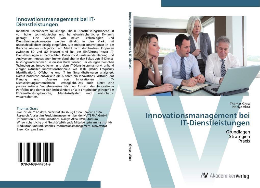 Innovationsmanagement bei IT-Dienstleistungen a...