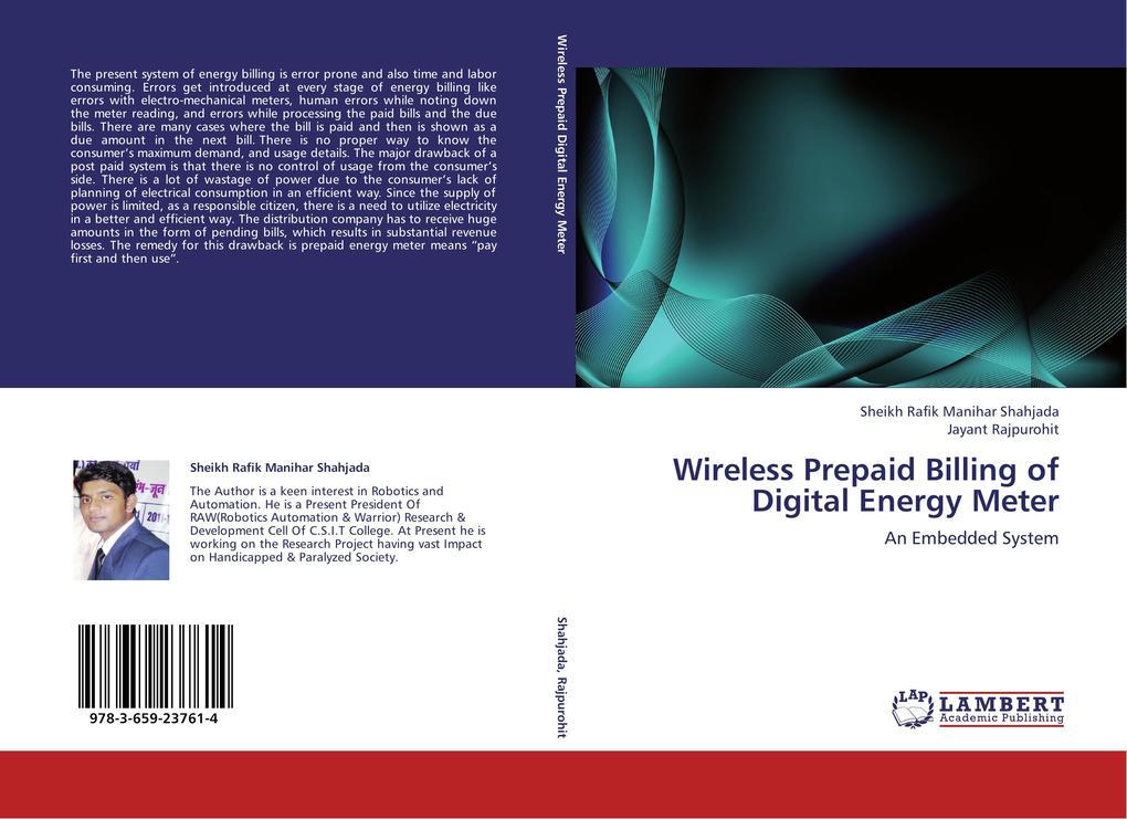 Wireless Prepaid Billing of Digital Energy Mete...