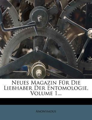 Neues Magazin für die Liebhaber Ddr Entomologie...