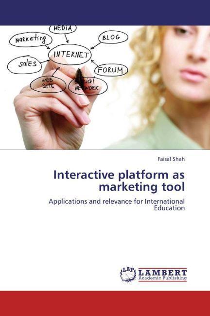 Interactive platform as marketing tool als Buch...
