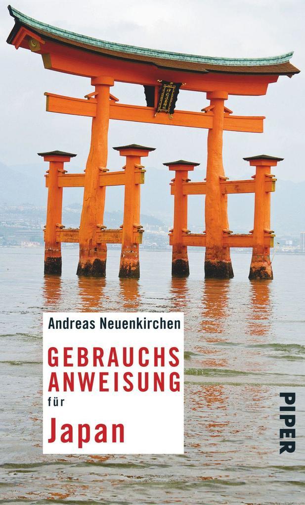 Gebrauchsanweisung für Japan als Taschenbuch vo...
